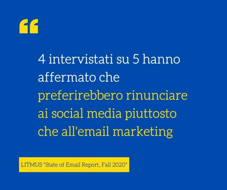 benefici delle email